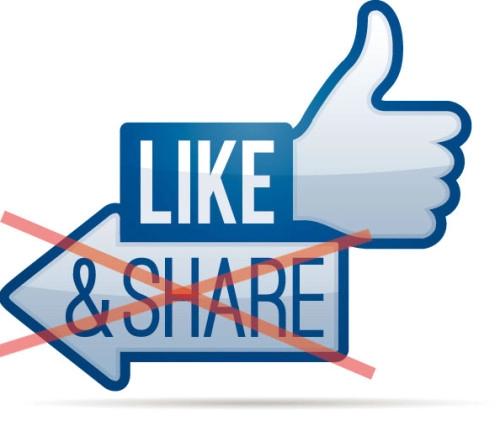 liken, teilen und gewinnen